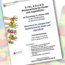 """Neuer Kurs """"Kangoo-Club"""" startet am 22.10.2020"""